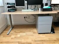 2 x Office desk with Pedestal (3 draws) – can arrange delivery