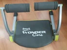 Smart Wonder Core Fitness Equipment Black/Green with instruction DVD - sensible offers considered