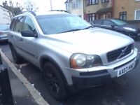 VOLVO XC90 2.4 DIESEL 2003 AUTOMATIC 7 SEATER CLEAN CAR FULL LEATHER FULL HISTORY HPI