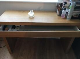 4 OAK IKEA TABLES