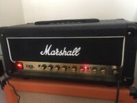 Marshall DSL15H Valve amp with footswitch