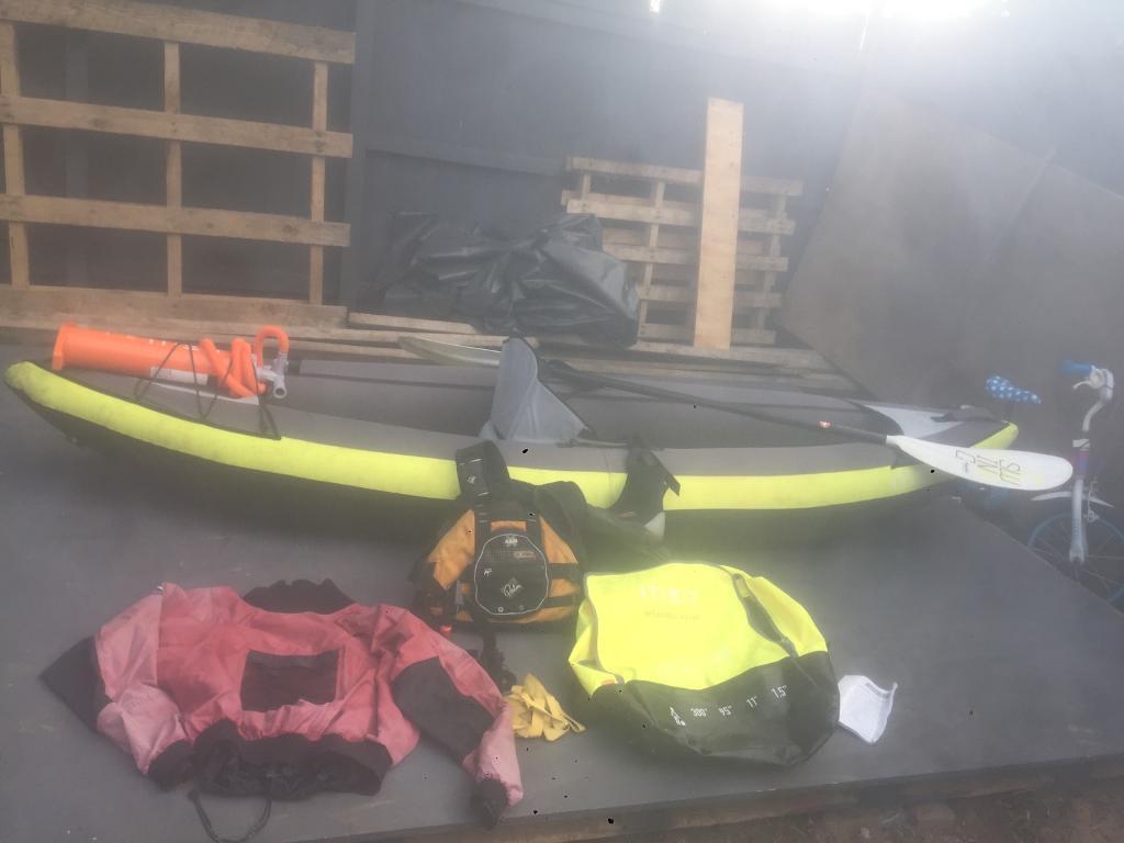 kayak full set up canvas covered price 150 in mickleover