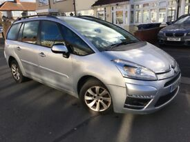 2013 Citroen Grand C4 Picasso Facelift 1.6 HDi Edition 7 Seater Smooth Drive New Shape Cheapest Car