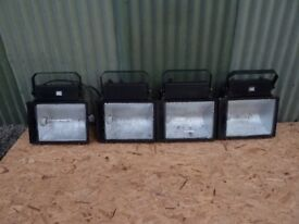 4 x Exterior Floodlights / Workshop Lights