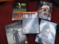 Apocalypto, Aliens/Predator, Drag me to Hell, The Wolfman, Fire in the Sky
