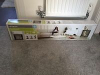 Three Lindam baby gates for sale. Brand new in box.