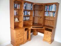 Corner Study desk and units