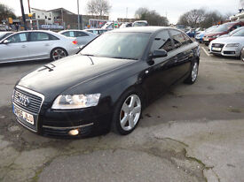 2005 AUDI A6 S LINE GOOD CONDITION FULL SERVICE HISTORY PERFECT RUNNER NATIONWIDE WARRANTY AVAILABLE