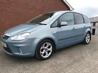 2009 Ford C Max 1.6 Petrol / 5 Seater / well looked after / Part Exchange Available