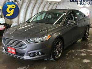 2014 Ford Fusion TITANIUM*AWD*NAVIGATION*SUN ROOF*LEATHER SEATS* Kitchener / Waterloo Kitchener Area image 1