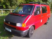 VW Transporter T4 Campervan Van