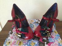 BRAND NEW irregular choice shoes size 5