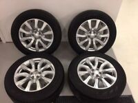 19'' GENUINE RANGE ROVER EVOQUE ALLOY WHEELS ALLOYS TYRES LAND FREELANDER