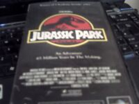 3 x Jurassic Park vhs tapes..one is a double..