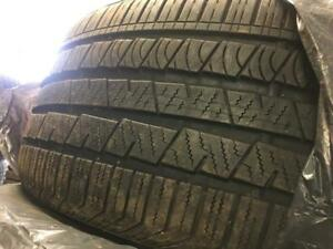 265 45 20 Used tires Continental Pair.