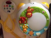 Baby musical projector