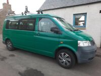 VW T5 LWB Campervan 130bhp, 2.5L, 4 berth, 5 seats