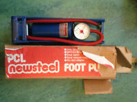 Quality all steel PCL foot pump