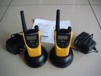Motorola XTN446 professional PMR two-way radios.