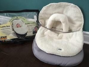 Jolly jumper car seat cover 0-18months 20$