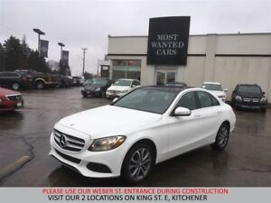 2015 Mercedes-Benz C300 4MATIC | NAVIGATION | BLIND | DUAL SUNRO