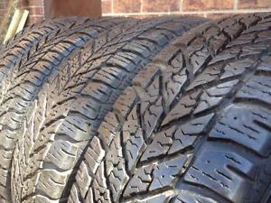 WINTER Set of 4  ~~~  225/65R16 Goodyear UltraGrip ~~~ 95%+tread