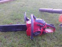 einhell petrol chainsaw