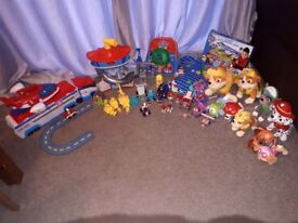 Massive huge PAW PATROL bundle