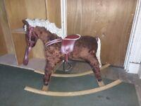 1970's Rocking horse