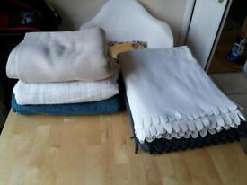 Set of 5 IKEA blankets - excellent condition