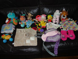 SELECTION OF BABY SOFT TOYS