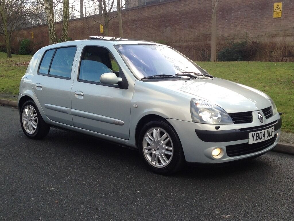 Top Of Rang - 2004 Renault Clio 1 5 Dci Initiale Diesel Manual 5dr