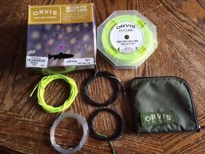 Orvis Multi Tip Spey Line w 4 Tips