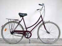 """SALE!!! (2705) 26"""" 21"""" RALEIGH 3 SPEED VINTAGE COMMUTER CITY TOWN BIKE BICYCLE Height: 175-190cm"""