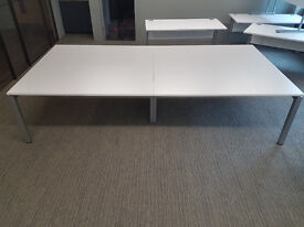 office desk workstation X 4 position Steelcase