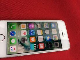 iPhone 5s silver 16 gb UNLOCKED