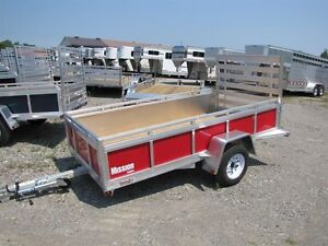 2016 Mission Trailers 5x10 Aluminum Utility Trailer