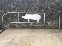 STAINLESS STEEL HANDRAIL AND PIG SUIT FARM AGRICULTURE