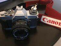 Canon AV-1 and lenses great vintage condition