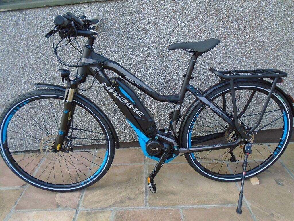 haibike trekking sduro electric bike new in redruth. Black Bedroom Furniture Sets. Home Design Ideas