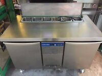 CATERING COMMERCIAL PIZZA SALAD TOPPING FRIDGE TAKE AWAY RESTAURANT FAST FOOD KITCHEN BAR PUB SHOP