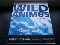 Audiobook 9cd unabridged Wild Animus as new