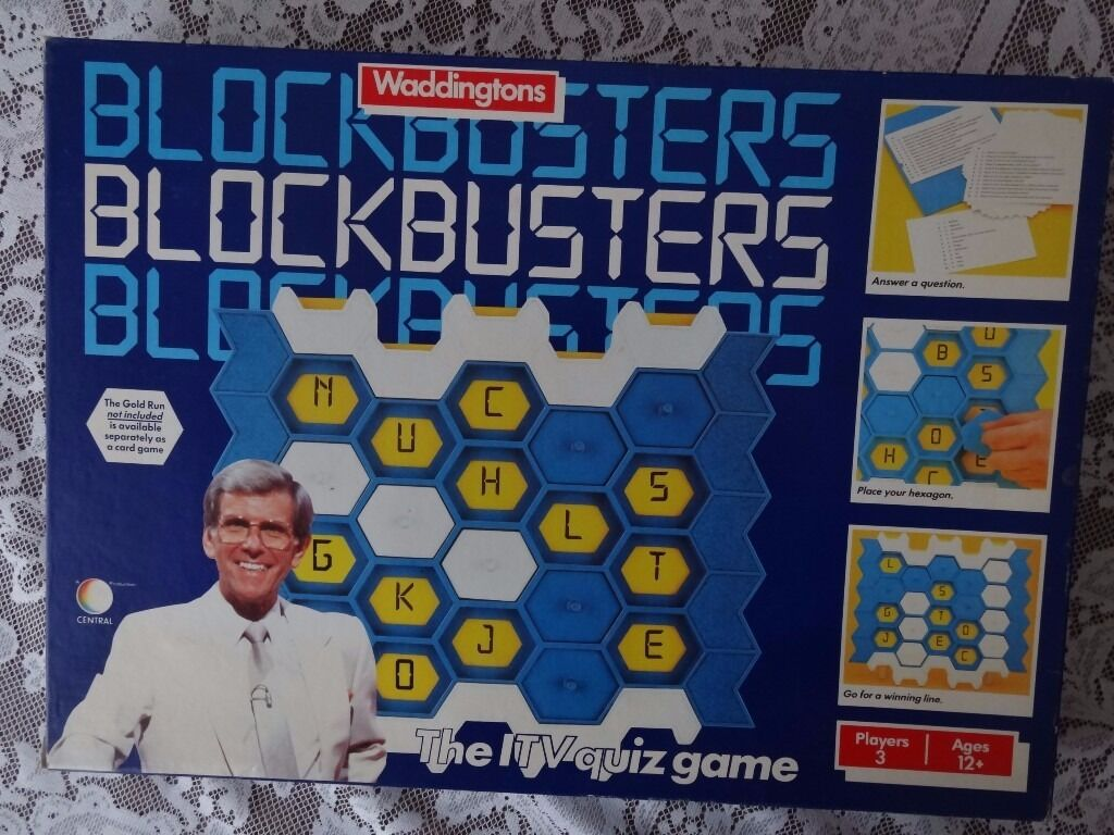 Image result for blockbusters board game
