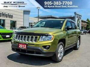 2012 Jeep Compass NORTH, 4X4, SUNROOF, AUTO, A/C, POWER WINDOWS