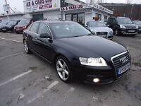 58 PLATE AUDI A6 FULLY LODE TOP CONDITION PERFECT CAR ONLY 64K 12 M MOT 3 M NATIONWIDE WARRANTY