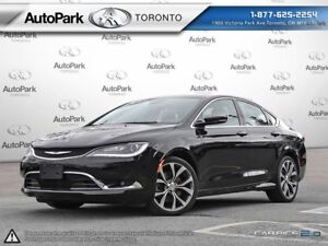 2016 Chrysler 200 C Navi | Extended Sunroof | Leather | Loaded!