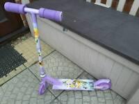 Girls disney fairies scooter