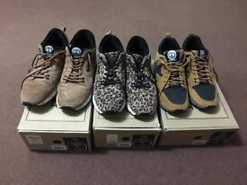 3 pairs of gourmet trainers