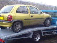 CARS WANTED*MOT FAILURES,SCRAP CARS,VANS,CARAVANS*SAME DAY IMMEDIATE CASH PAYMENT AND COLLECTION*