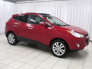 2012 Hyundai Tucson LIMITED AWD SUV w/ ALLOYS, SUNROOF, USB PORT